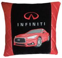 подушка вышивкой машины