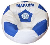 бескаркасное кресло мяч с логотипом днипро