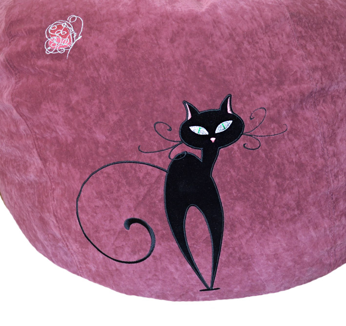 кошка кресло мешок