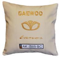 део логотип подушка