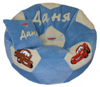 кресло для ребенка пуф мягкий тачки