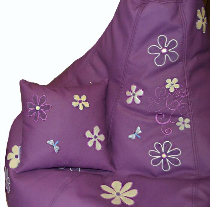 бескаркасная мебель подушка