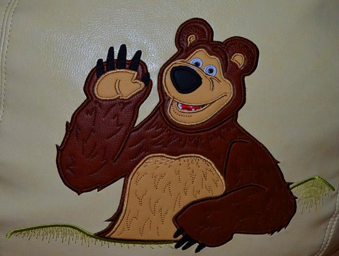 маша и медведь вышивка