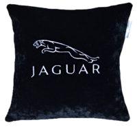 подушка с логотипом ягуар