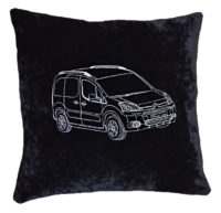 подушка с контуром авто