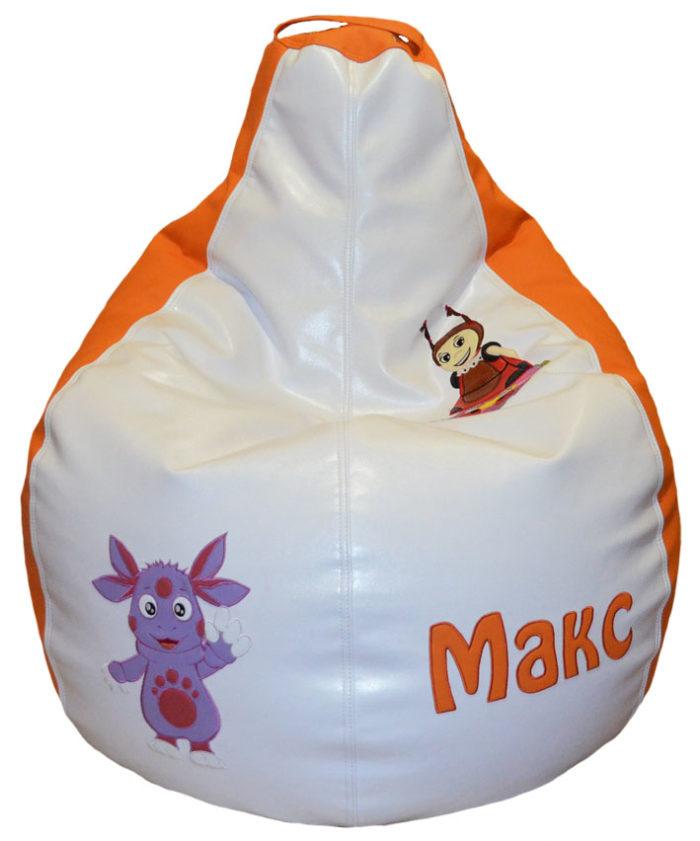 кресло мешок лунтик пуфики детские