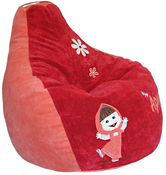 кресло груша пуф детский