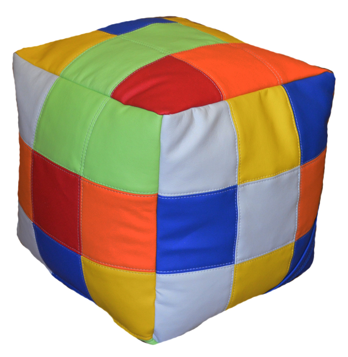 кубик-рубик пуф