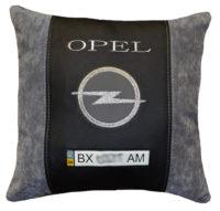 опель подушка с логотипом