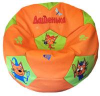 детское кресло мешок три кота