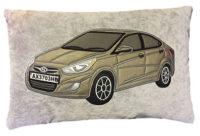 подушка с авто