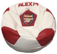кресло мяч с логотипом арсенал