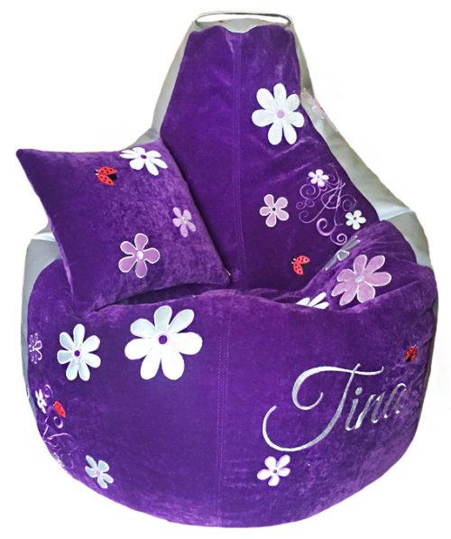 бескаркасное кресло мешок