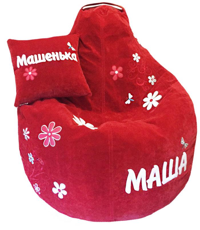 кресло подушка пуф