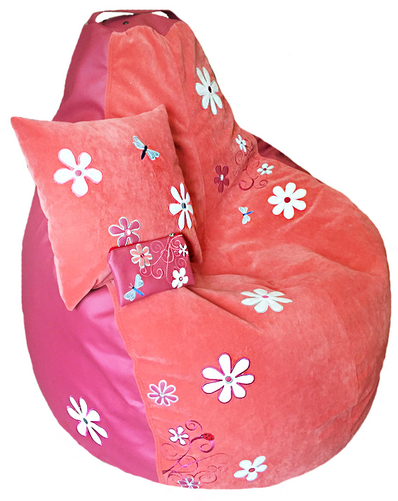 бескаркасная мебель кресло пуф