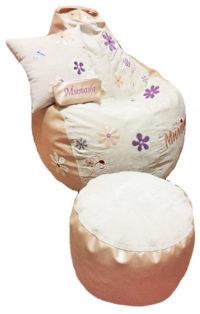 кресло-груша пуфик подушка для девочки