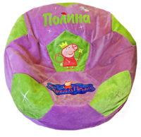 кресло-мяч свинка пеппа