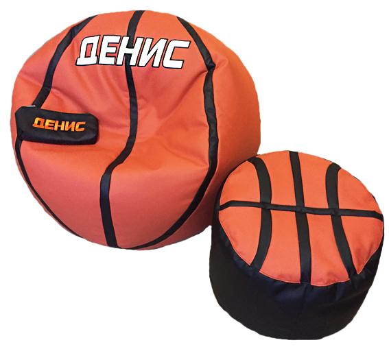 кресло в виде баскетбольного мяча