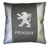 подушка с логотипом пежо