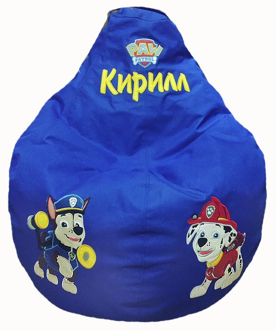 бескаркасное кресло мешок щенячий патруль