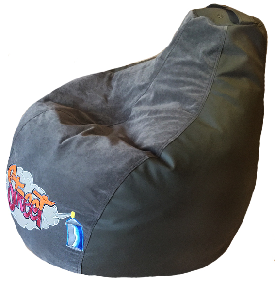 кресло мягкое бескаркасное пуф