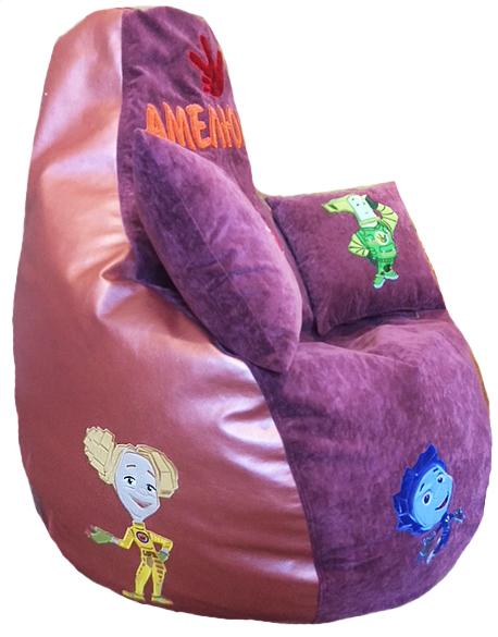 Бескаркасная мебель, кресло груша фиксик