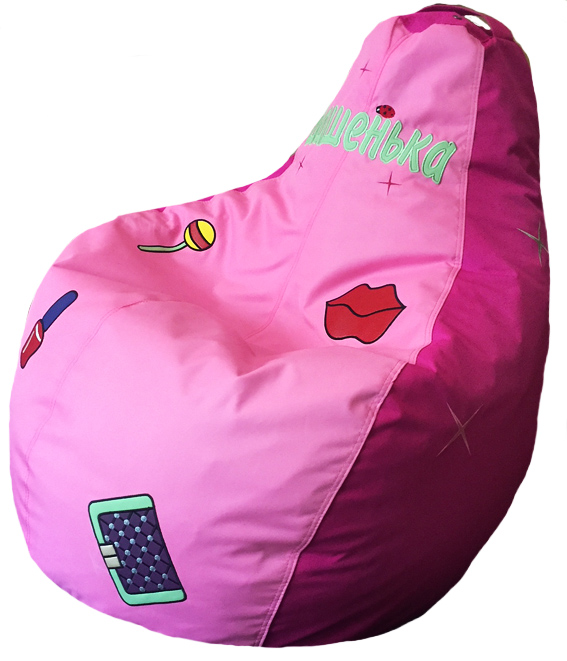 кресло бескаркасное пуф для девочки