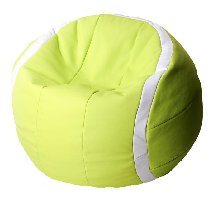 теннисный мяч пуф
