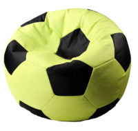 кресло мешок в виде футбольного мяча