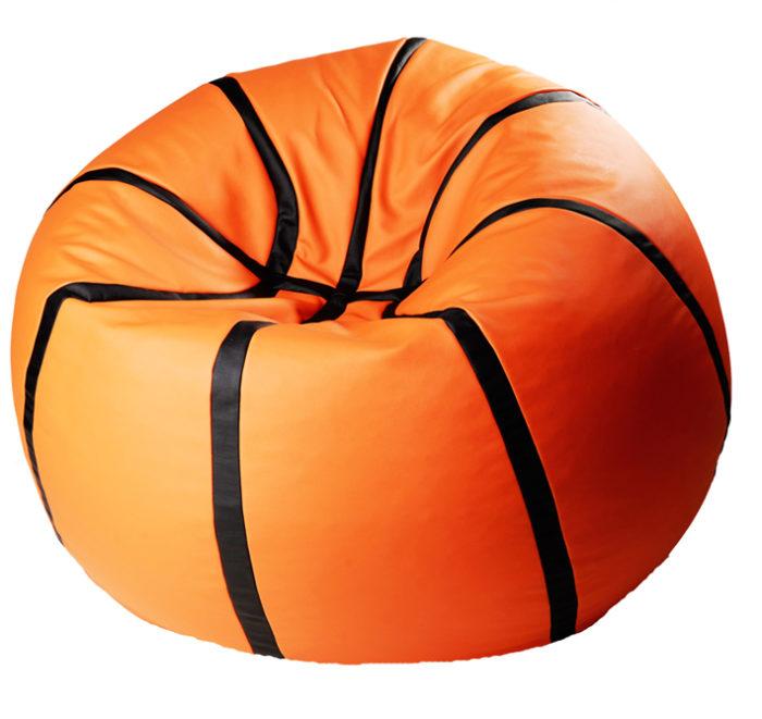 баскетбольный мяч кресло-пуф