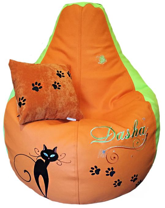 мягкие кресла мешки подушка кошка