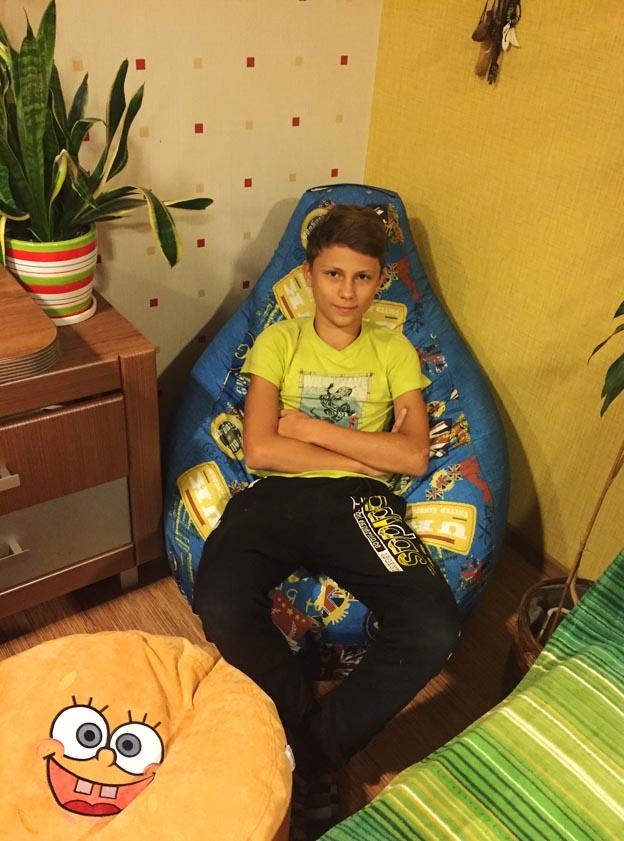 кресло бескаркасное детское пуфы