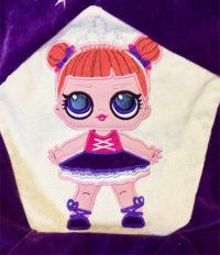 вышивка куклы лол