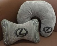 подушка-подголовник лексус, подарок мужу