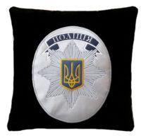 подарок полицейскому, сувенирная подушка