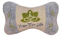 подушка подголовник йога