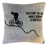 подарок велосипедисту подушка