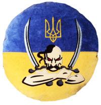 подушка национальная символика
