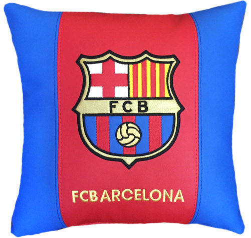 подушка фк барселона barcelona