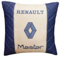 подушка с логотипом рено, автоаксессуары