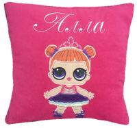 куклы лол подушка для девочки именная