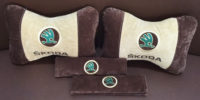 накладки на ремень безопасности подушка-подголовник