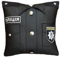 подарок полицейскому подушка сувенир
