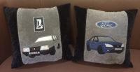 подушка с машиной, подарок автомобилисту