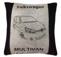 подушка с силуэтом авто, подарок в машину