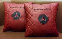 подушка с логотипом мерседес