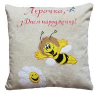 именная подушка для ребенка