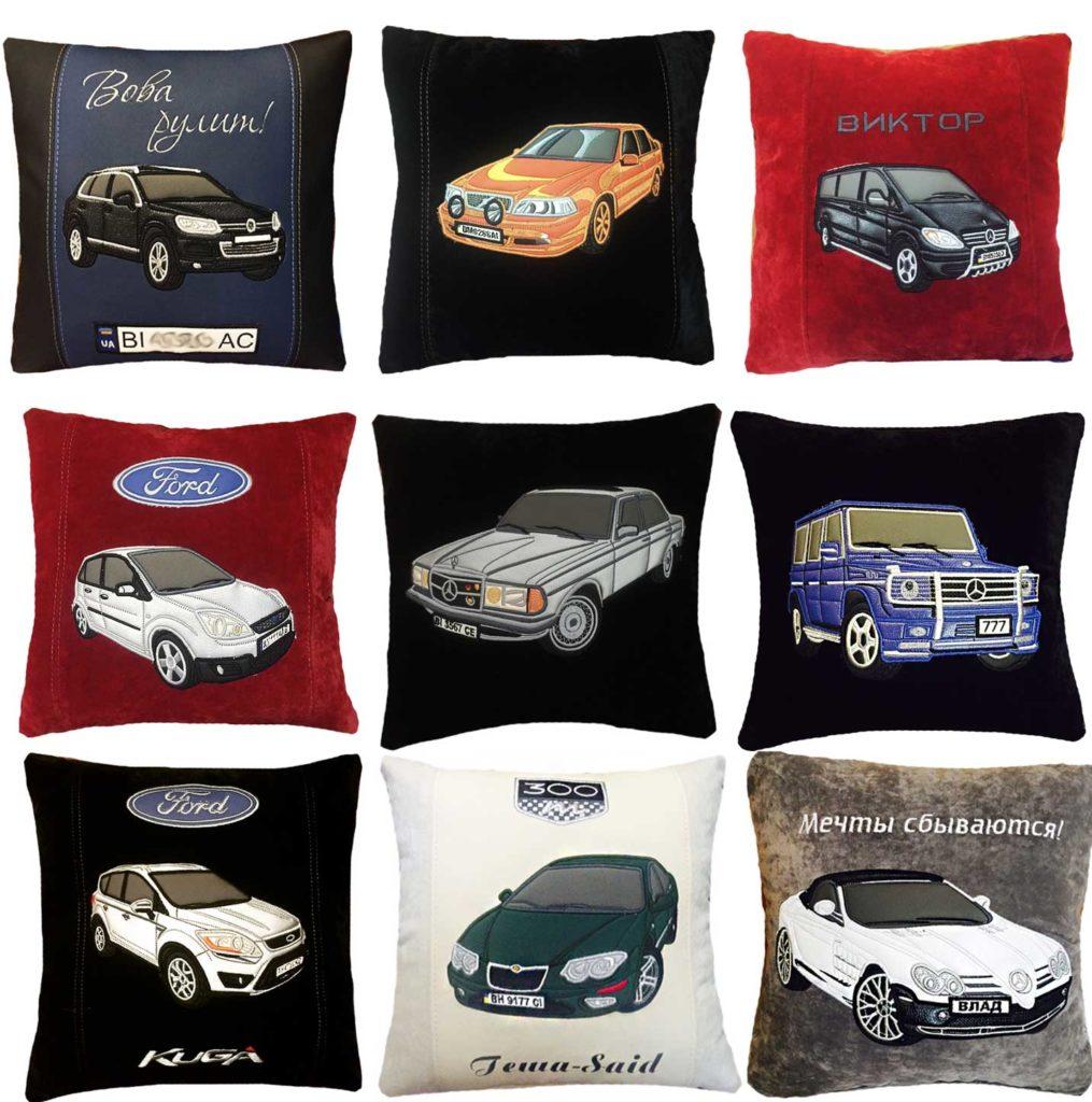 подушка в машину, автоподарок