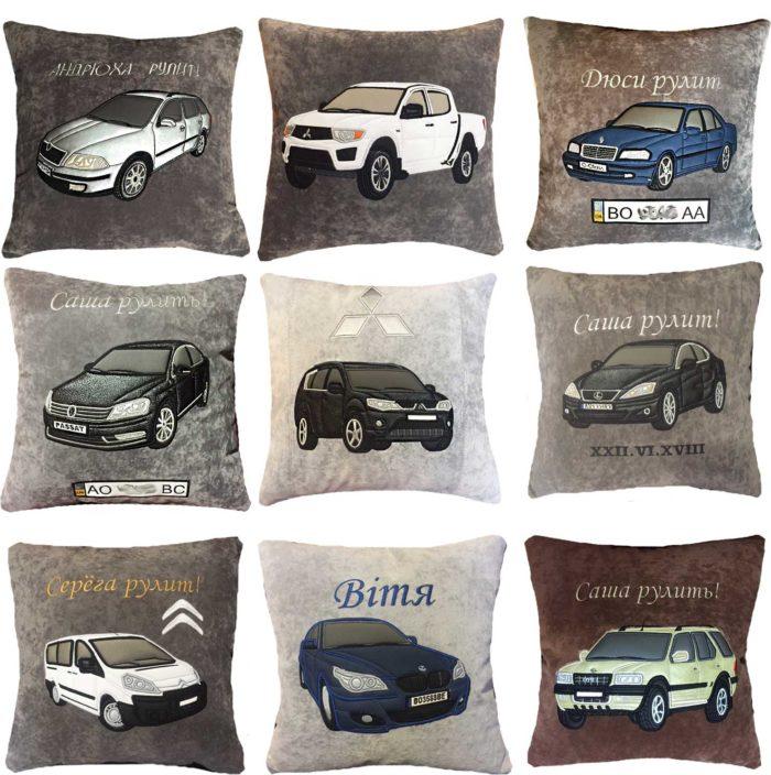 автоаксесуары для машины, подушки в машину