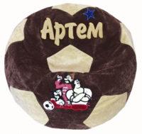кресло мяч мешок с именем, пуфик для детей